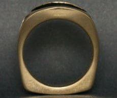 Men's Bull Elk Ring Profile