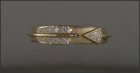 Women's Diamond Arrow Ring
